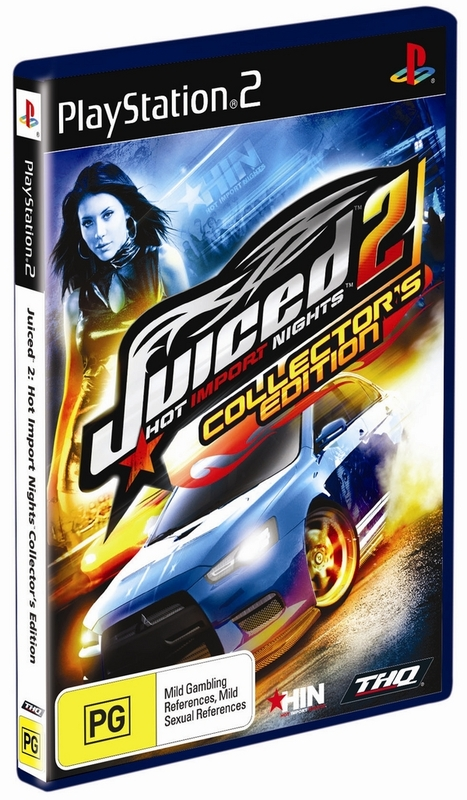 Juiced 2: Hot Import Nights: Collector's Edition for PlayStation 2