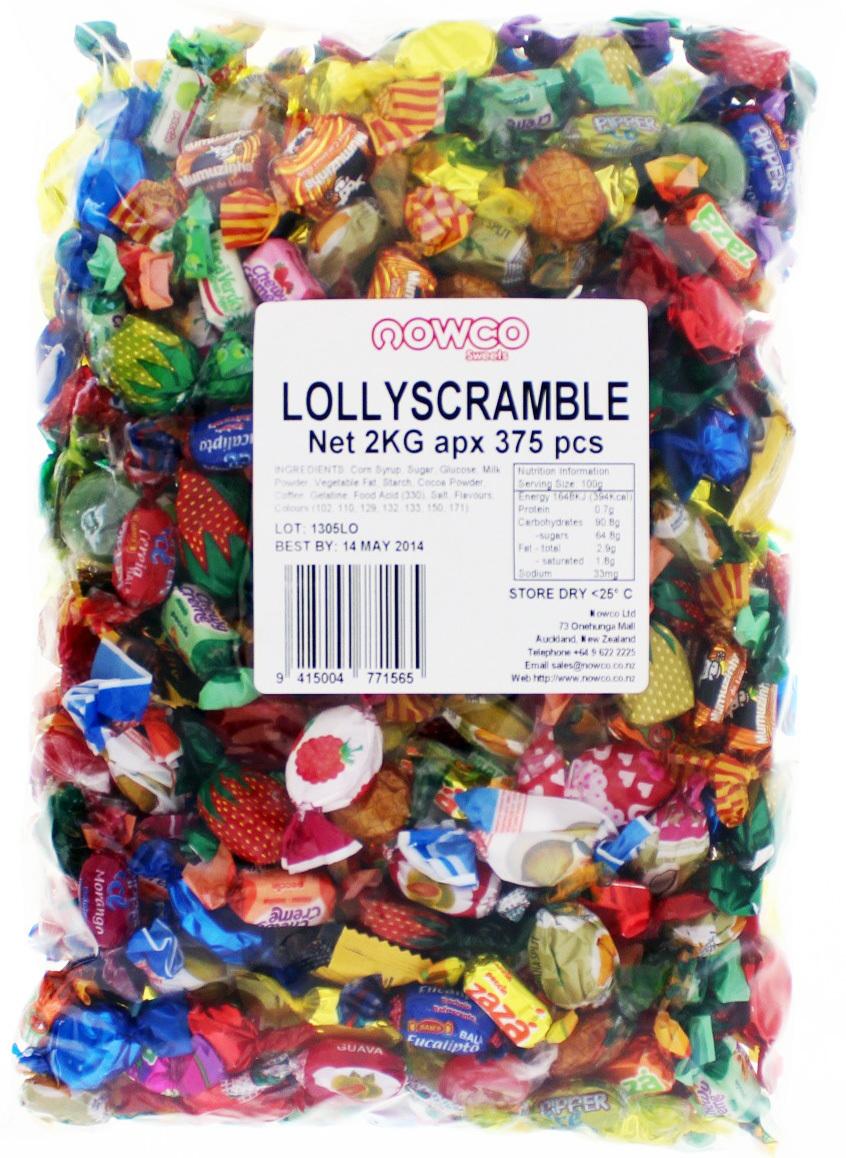 Nowco Lolly Scramble Bulk Bag 2kg image