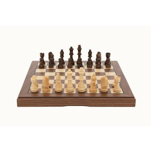 Dal Rossi: Walnut Chess Set image
