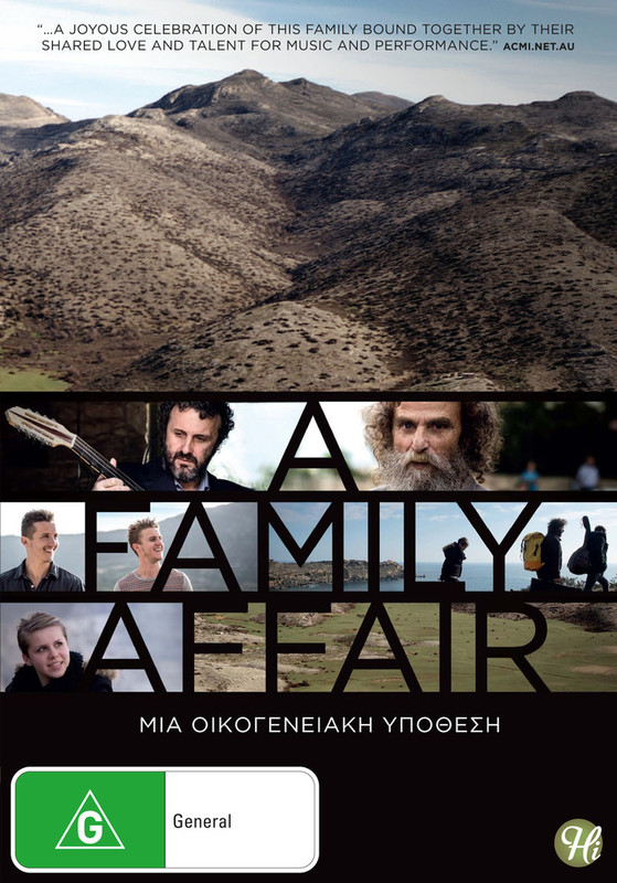 A Family Affair on DVD