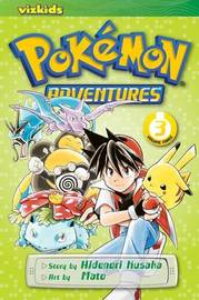 Pokemon Adventures, Volume 3 by Hidenori Kusaka
