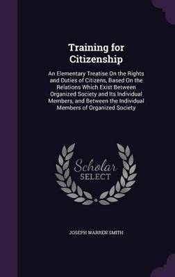 Training for Citizenship by Joseph Warren Smith image