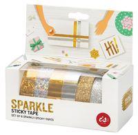 Sparkle Sticky Tape (set of 6)