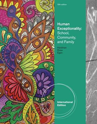 Human Exceptionality by Clifford J Drew image