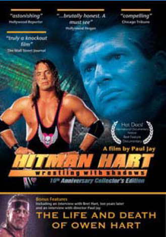 Hitman Hart: Wrestling with Shadows (2 Disc Set) on DVD image