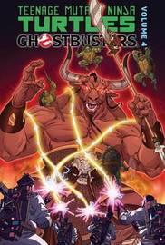 Teenage Mutant Ninja Turtles / Ghostbusters 4 by Erik Burnham