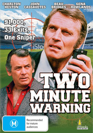 Two Minute Warning on DVD image