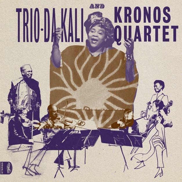Ladilikan (LP) by Trio Da Kali And Kronos Quartet