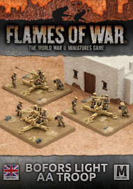Flames of War: Desert Rats - Bofors Light AA Troop