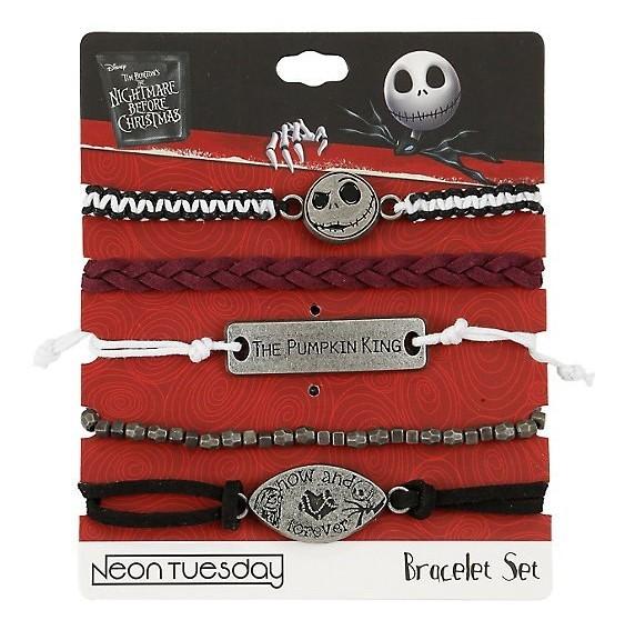 Nightmare Before Christmas - Now & Forever Bracelet Set