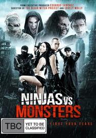 Ninja vs Monsters on DVD