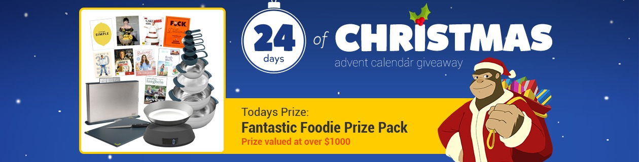24 Days: Fantastic Foodie Prize Pack