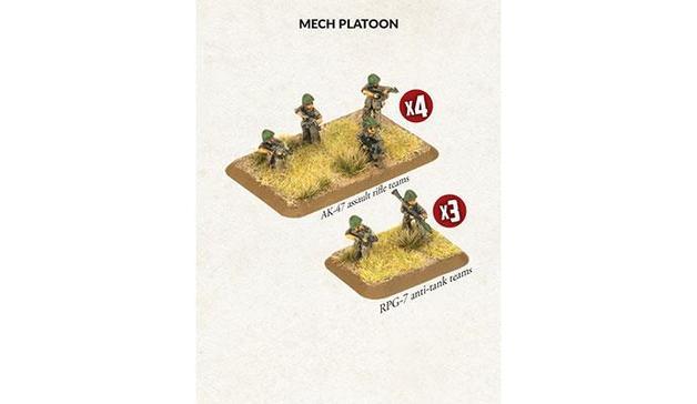 Iraqi Mech Platoon