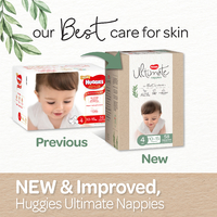 Huggies: Ultimate Unisex Nappies - Size 4 (58 Pack)