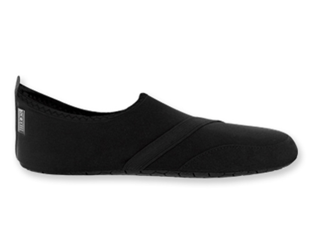 Fitkicks: Mens Foldable Footwear - Black (Large)