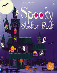 Spooky Sticker Book by Stella Baggott