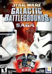 Star Wars Galactic Battlegrounds Saga (Jewel Case packaging) for PC
