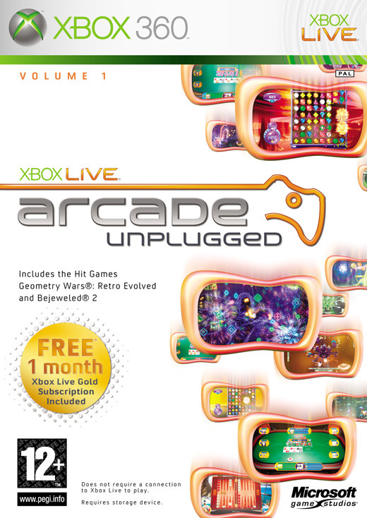 Xbox Live Arcade Unplugged for Xbox 360