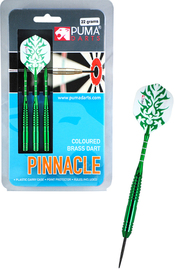 Puma Pinnacle 22gm Coloured Brass Darts (Set 3)