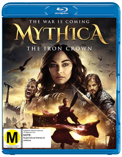 Mythica: The Iron Crown on Blu-ray image