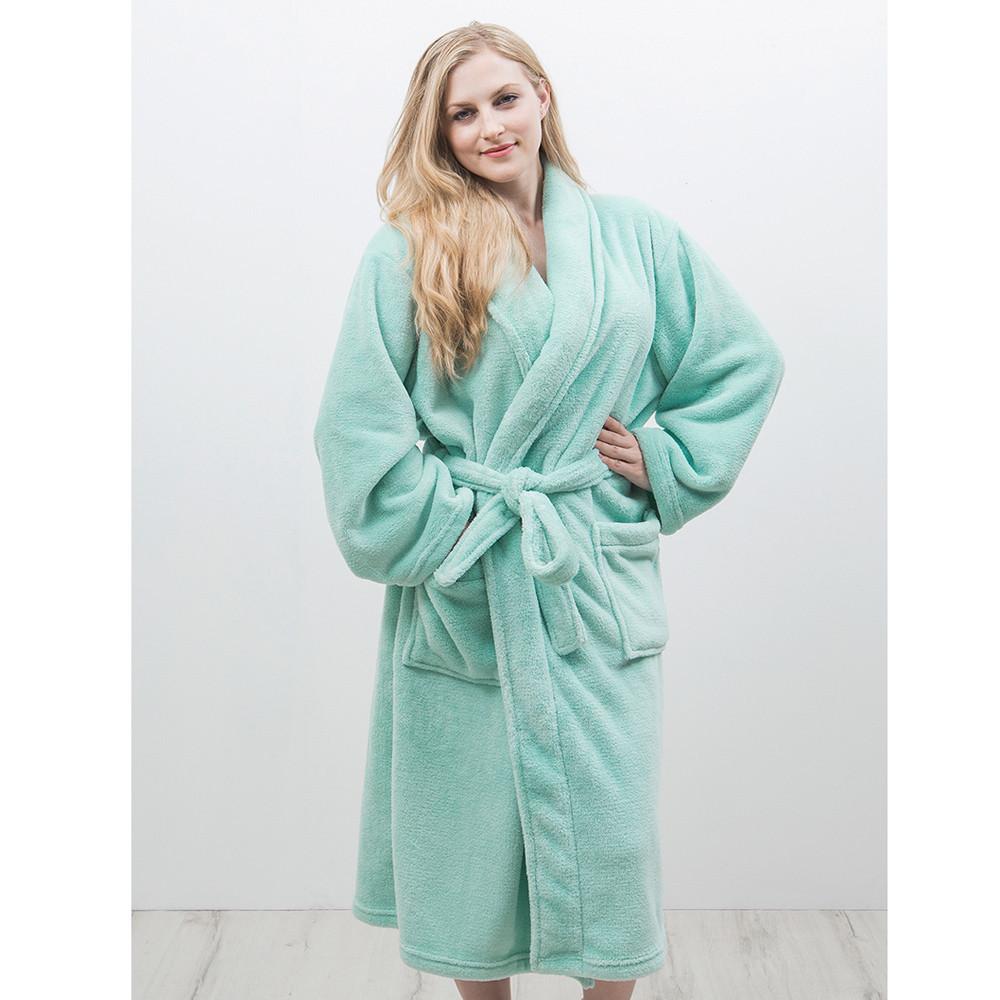 Bambury Blush Microplush Robe (Medium/Large) image