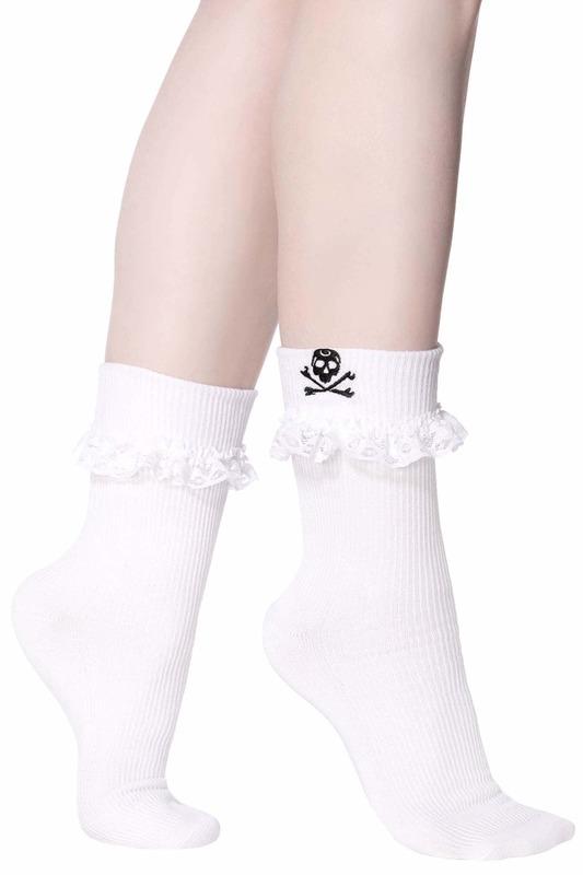 Killstar: Riot Ruffle Socks - One Size