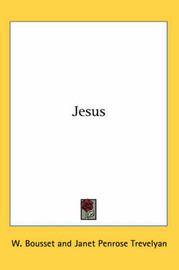 Jesus by W. Bousset image
