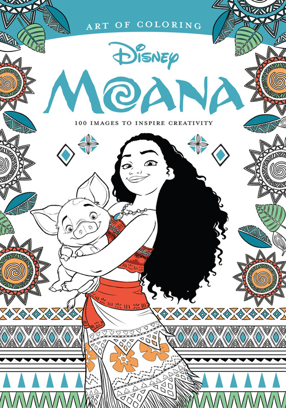 Art Of Coloring: Moana by Disney Book Group