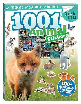 Flying Start 1001 Amazing Animals Stickers Book