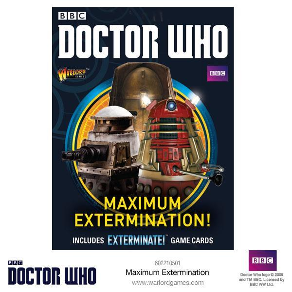 Doctor Who: Maximum Extermination!
