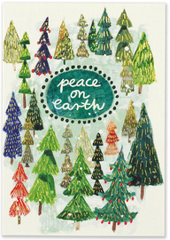 Peter Pauper: Boxed Christmas Cards - Festival of Trees (20 Pack)