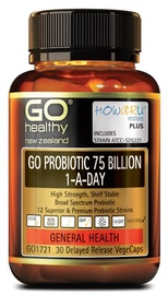 GO Healthy - GO Probiotic 75 Billion (2x30s)