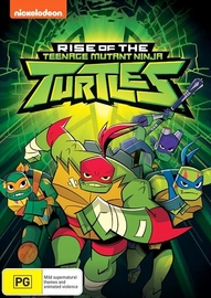 Rise Of TMNT Volume 1 on DVD