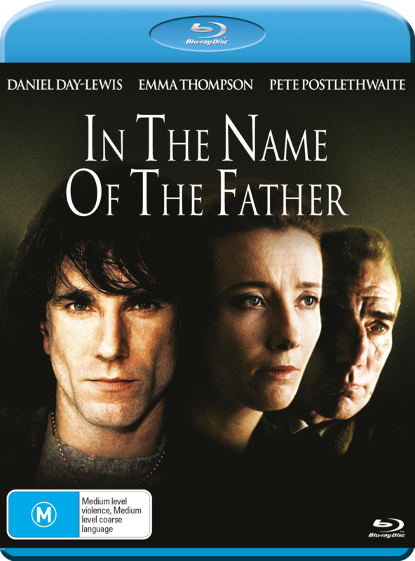 In The Name of The Father on Blu-ray