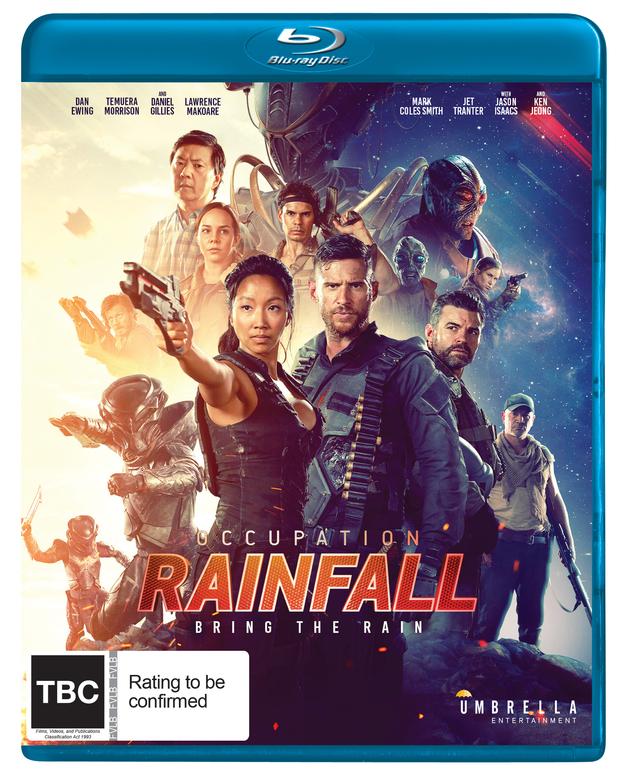 Occupation: Rainfall on Blu-ray