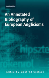 An Annotated Bibliography of European Anglicisms image