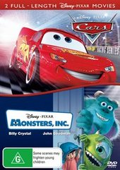 Cars / Monsters, Inc. (2 Disc Set) on DVD