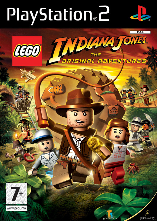 LEGO Indiana Jones: The Original Adventures for PlayStation 2