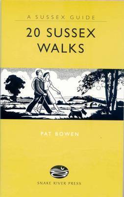 20 Sussex Walks by Pat Bowen