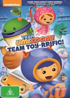 Team Umizoomi: Team Toy-Rrific! on DVD image