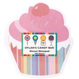 Dylan's Candy Bar Notepad - Cupcake