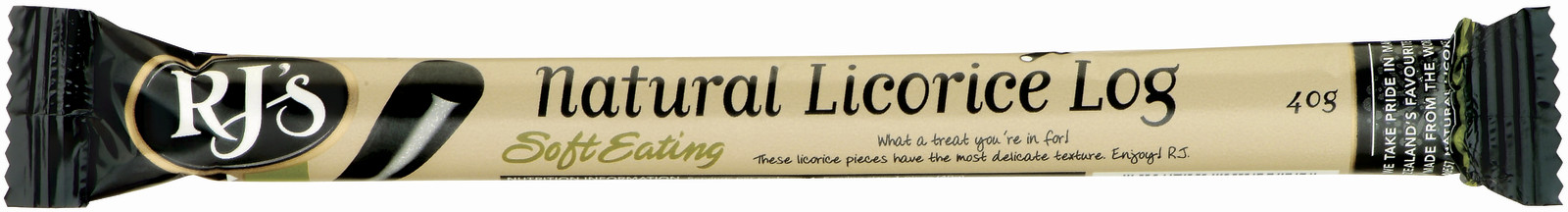 RJ's Soft Eating Licorice Single Logs (30 Pack) image