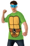 TMNT Leonardo Costume T-Shirt & Mask (XL)