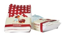 Moover Pram Bedding - Red