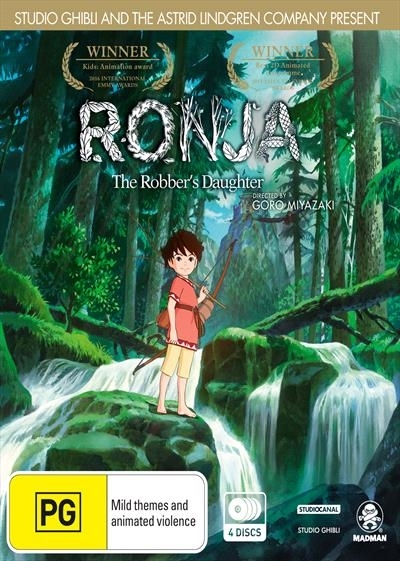Ronja, The Robber's Daughter on DVD image
