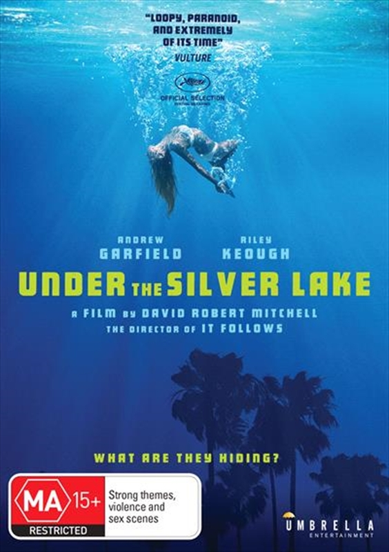 Under the Silver Lake on DVD