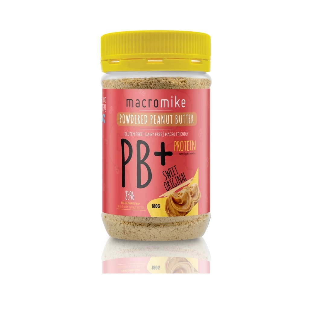 Macro Mike PB+ Powdered Peanut Butter - Original image