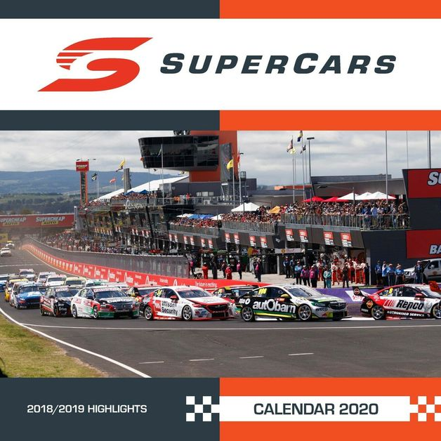 Supercars 2020 Mini Wall Calendar