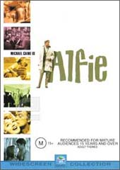 Alfie on DVD