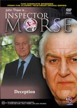 Inspector Morse - Deception on DVD